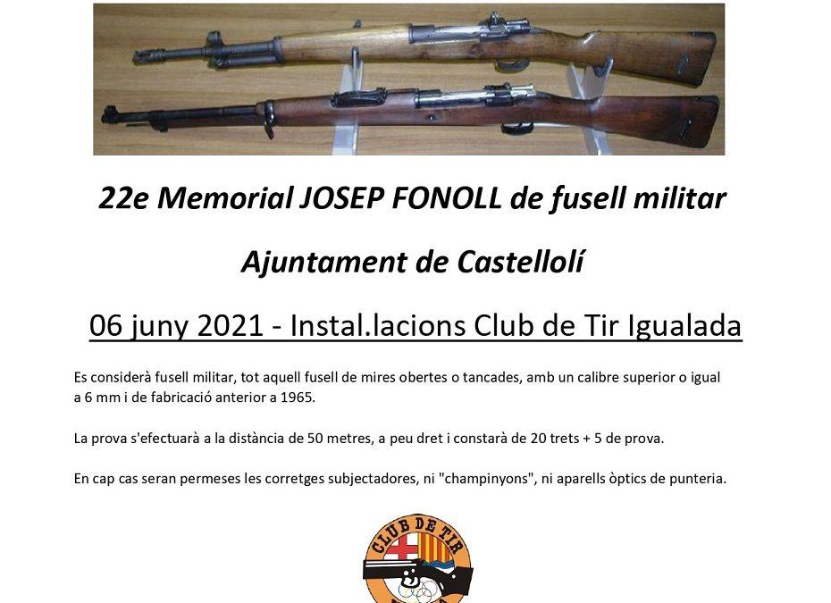 22e Memorial Josep Fonoll