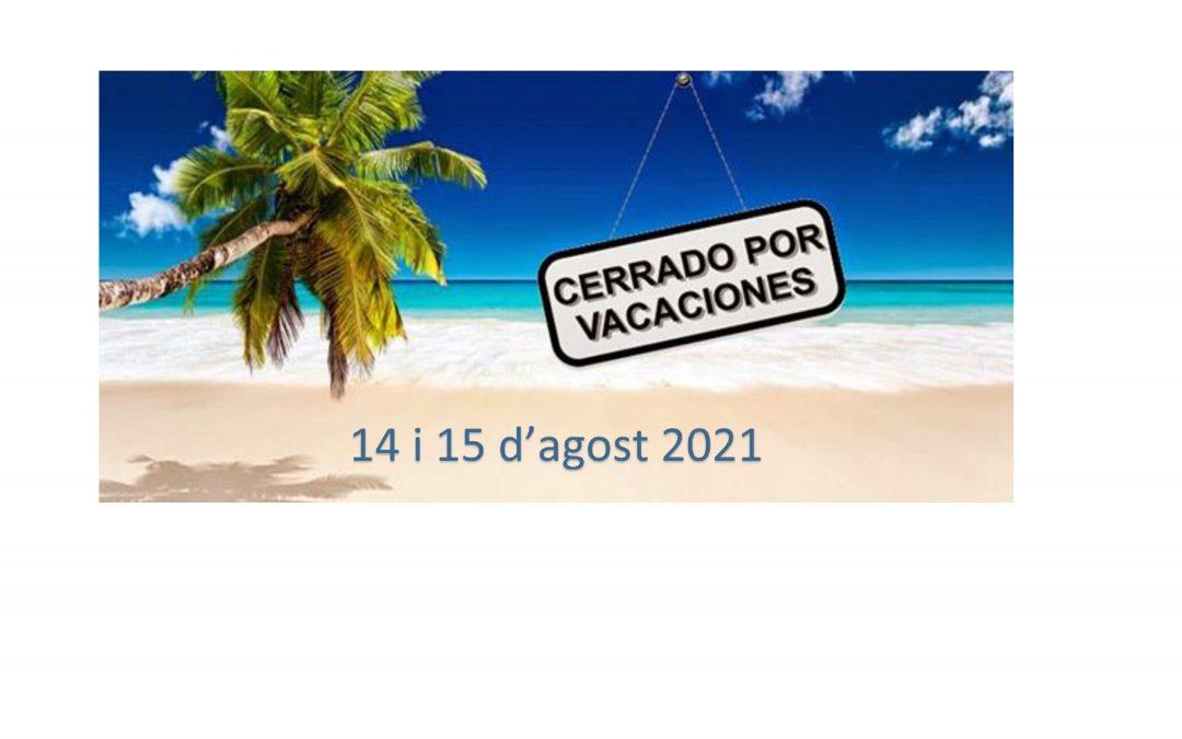 VACANCES 2021